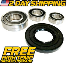 Whirlpool Duet Front Load Washer Bearing Seal Kit W10253866  W10253856 W10253864
