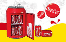COCA COLA CAN FRIDGE