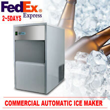 Built In Countertop Stainless Steel Cube Bullet Ice Maker Machine Full automatic