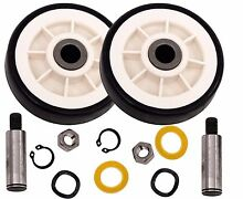 Replacement Drum Support Roller Pulley Wheel Repair kit for Maytag Dryer 303373