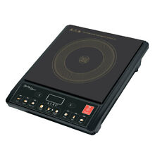 Portable Electric Induction Cooker Stove HotPlate Cooktop Ceramic Plate Kitchen