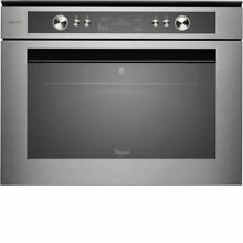 Whirlpool Fusion AMW834 IXL Built In Stainless Steel Microwave   Grill   NEW