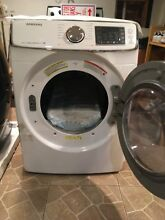 Samsung high efficiency dryer electric with steam mode white
