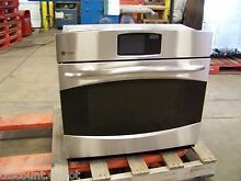 GE PROFILE 30  STAINLESS STEEL LCD CONVECTION SINGLE OVEN PT920SRSS  55 off 2849