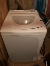 White Kenmore Top load washer w  front load Dryer