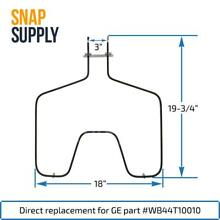Bake Element for GE WB44T10010