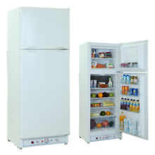 200QT AC Propane Refrigerator Freezer Off Grid Cabin Garage Recreational Vehicle