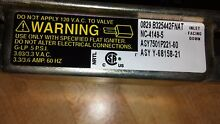 Kenmore Range Stove Oven Safety Valve WP74011290