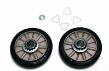 349241T 349241 Dryer Drum Roller Kit Compatible with Whirlpool Kenmore Sears