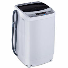 Portable Washing Machine Spin Compact Washer 1 6 Cu ft 10 lbs Drain Pump