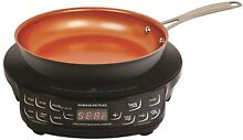 NuWave PIC Flex Precision Induction Cooktop with Fry Pan   Black   9