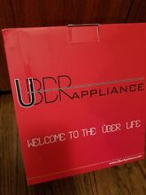 Uber Appliance UB CH1 Uber Chill 6 can Mini Fridge Personal Cooler and Warmer