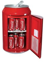 Koolatron Red Coca Cola 8 Can Portable 12V Mini Fridge Brand New in Box