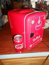 Coke Coca Cola COUNTERTOP Mini BEVERAGE  FRIDGE COLD WARM