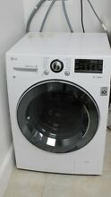 LG WM3488HW 24  Washer Dryer Combo with 2 3 cu  ft  Capacity  Stainless Steel Dr