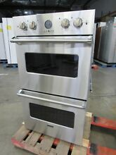 VIKING PRO PREMIERE 30  STAINLESS DOUBLE OVEN VEDO5302SS   46  OFF  7195 MSRP
