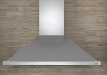 Zephyr ZSI E30AS 30 Inch Wall Mount Chimney Range Hood  HAS DENT    h104