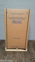 Viking VEDO5302SS 30  Double Electric Wall Oven Stainless Steel New In Box Wolf
