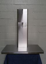 Zephyr ZLUM90AS Wall Mount Chimney Hood  Stainless Steel 5 Speed ICON Touch Cont