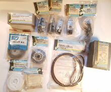 Lot of NOS OEM Sears Kenmore Washer Dryer Icemaker Range Fridge Repair Parts