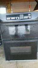 KitchenAid Black Double Wall Oven  Microwave