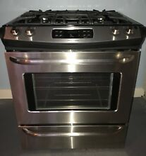 Frigidaire Stainless Steel Slide in 30 Inch Gas Range FFGS3025PSF