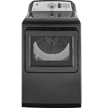 GE GTD75ECPLDG 7 4 cu  ft  Capacity Electric Dryer w  HE Sensor Dry