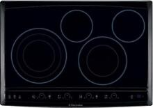 EW30EC55GB Electrolux 30  black electric cooktop  disco  new in box