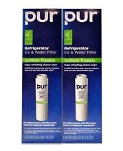 Lot of TWO  2   PUR Refrigerator Ice Water Bottom Freezer Filter UKF8001 F4PC6C1