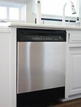 Stainless Steel Dishwasher Panel Cover by Kitchen Lyft