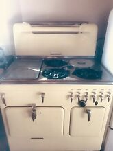 Buttercup Yellow Vintage Chambers Stove Oven Range Gas