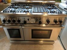 Thermador PRG486GDH Stainless Steel 48 inch Pro Gas Kitchen Range