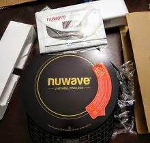 Brand New Nuwave Platinum 30401 Precision Induction Cooktop w remote retail  159