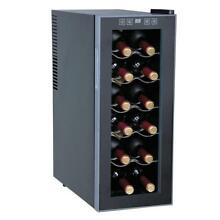 Sunpentown WC 1271 Thermo Electric Slim Wine Cooler with 12 Bottles Capacity New