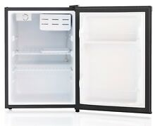 SPT 2 4 cu ft  Compact Refrigerator w Energy Star   Stainless Steel RF 244SS NEW