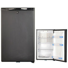 1 7 cu ft 12V 110V 2 Way Truck Fridge Silent Compact Cooler Lock Reversible Door