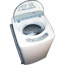 NEW  Washing Machine Apartment Size Dorm Small Compact 1 0 Cubic Portable US