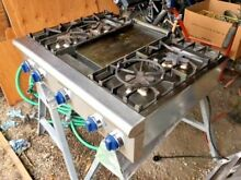 Thermador 36  COOKTOP WITH 4 STAR BURNERS AND ELECTRIC GRIDDLE