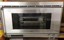 GAGGENAU 27  BUILT IN ALUMINUM COMBI STEAM AND CONVECTION OVEN