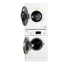 Stackable 13lb Digital Washer with Self Clean option Dryer