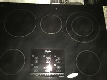 W10365146   WHIRLPOOL MAIN COOKTOP  Black Glass   2017 cooktop