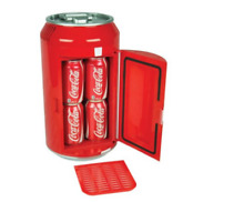 Koolatron Coca Cola 8 Can Portable 12V Mini Fridge for Car  Boat or Camper