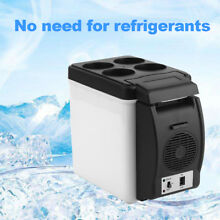 12V Portable 6L Mini Fridge Refrigerator Cool and Warm for Auto Car Boat Home Of