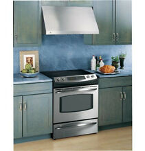 GE Profile 30 in  Designer Range Hood Stainless Steel Kitchen Mount Wall Panel