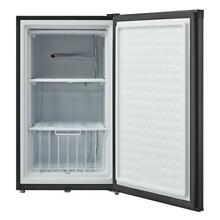 Whynter 3 0 cu  ft  Energy Star Upright Freezer with Lock   Black