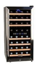 32 Bottle Free Standing Dual Zone Wine Cooler