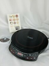 Precision NuWave Induction Cooktop   Model 30121 with Manual CD Manual Cook Book