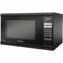 Family Size 1 2 Cu  Ft  1200W Countertop Microwave Oven   Black