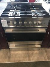 OR30SDBMX1 FISHER AND PAYKEL 30  FREE STANDING RANGE STAINLESS DISPLAY MODEL