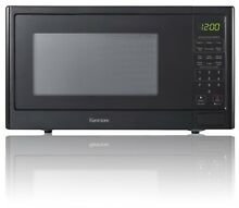Compact Countertop Microwave Oven 0 9 cu ft  Black LED Display Kitchen RV Dorm
